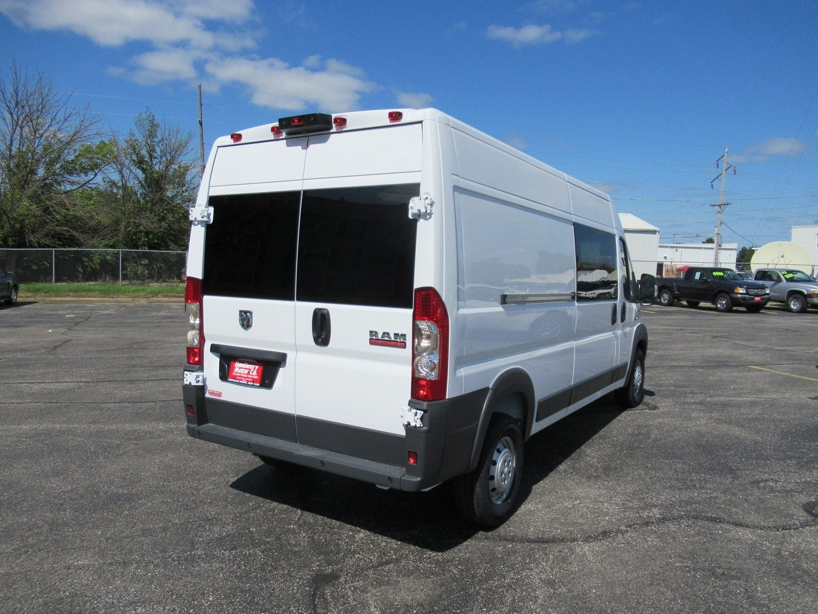 2018 ProMaster 2500 High Roof FWD,  Empty Cargo Van #DT21436 - photo 2