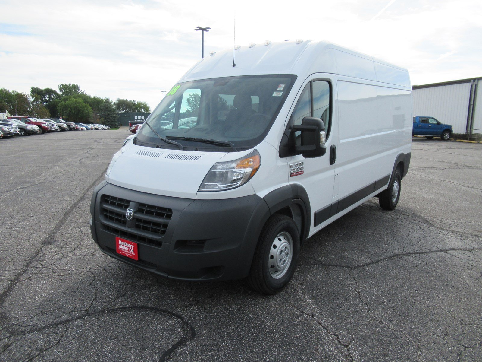 2018 ProMaster 2500 High Roof FWD,  Empty Cargo Van #DT21438 - photo 4