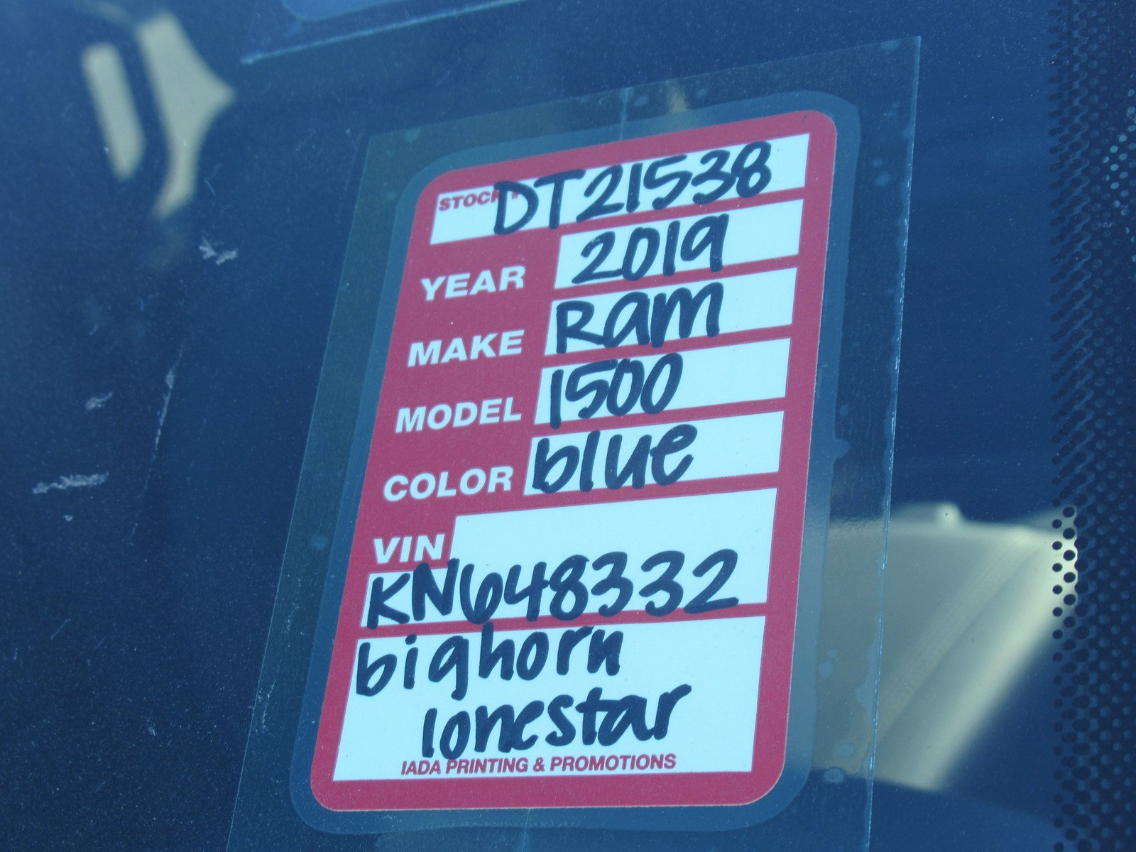 2019 Ram 1500 Crew Cab 4x4,  Pickup #DT21538 - photo 28
