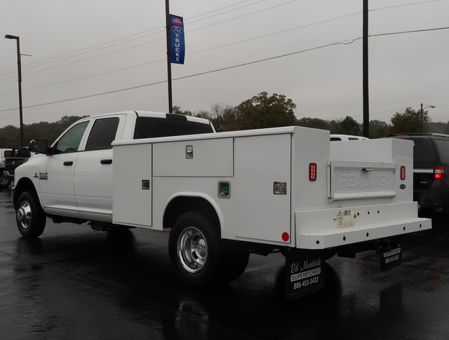 2018 Ram 3500 Crew Cab DRW 4x4,  Reading Service Body #T18052 - photo 13