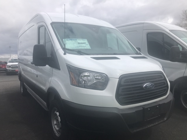 2019 Transit 150 Med Roof 4x2,  Empty Cargo Van #F10250 - photo 1