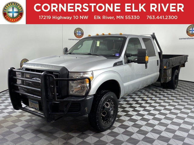 2014 F-350 Crew Cab DRW 4x4, Platform Body #F11038A - photo 1