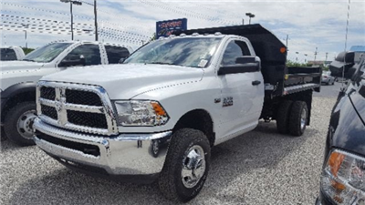 2017 Ram 3500 Regular Cab DRW 4x4, Monroe MTE-Zee Dump Dump Body #17502 - photo 1