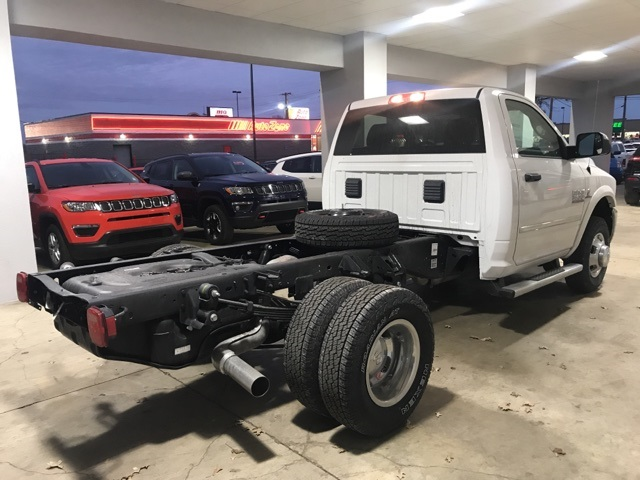 2018 Ram 3500 Regular Cab DRW 4x4, Cab Chassis #18185 - photo 4