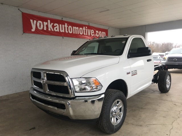 2018 Ram 3500 Regular Cab 4x4, Cab Chassis #18406 - photo 1