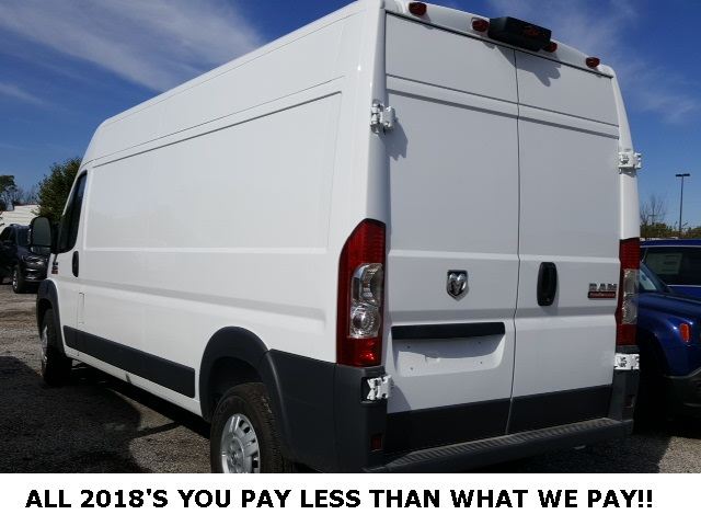 2018 ProMaster 2500 High Roof FWD,  Empty Cargo Van #18665 - photo 2