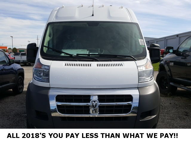 2018 ProMaster 2500 High Roof FWD,  Empty Cargo Van #18665 - photo 9