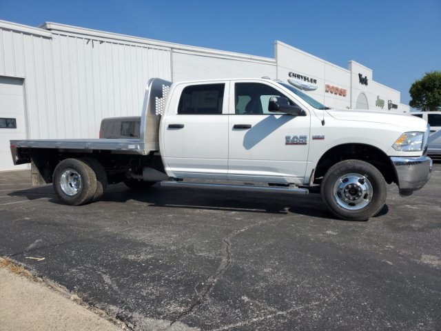 2018 Ram 3500 Crew Cab DRW 4x4,  Knapheide Platform Body #18682 - photo 8
