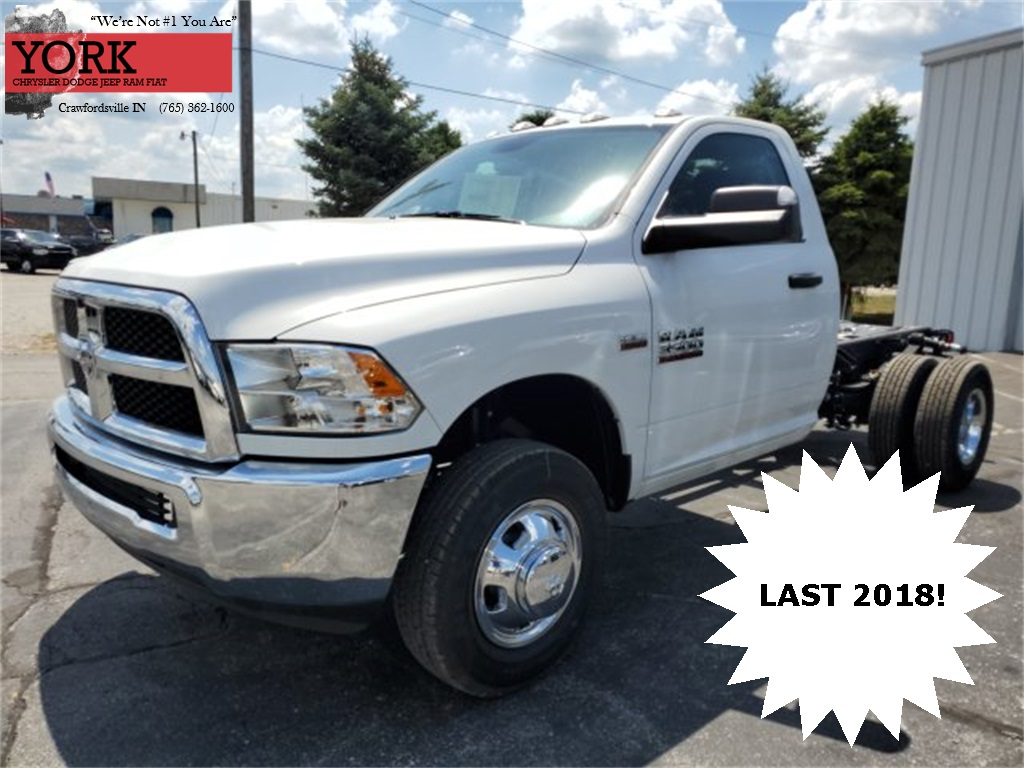 2018 Ram 3500 Regular Cab DRW 4x4,  Cab Chassis #18683 - photo 1