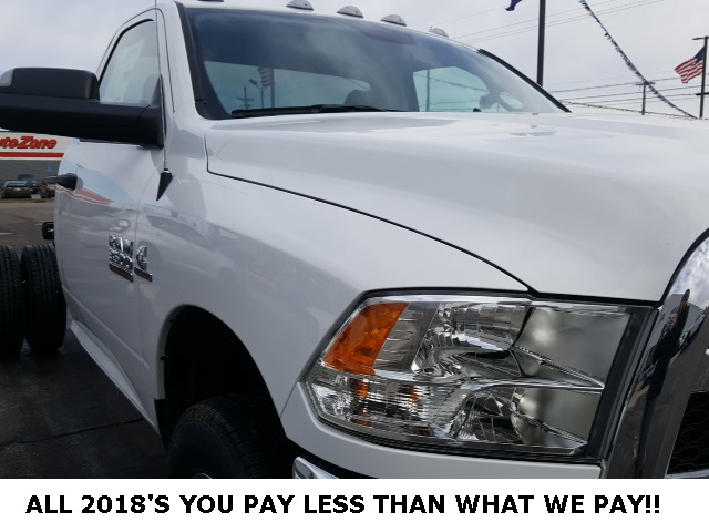 2018 Ram 3500 Regular Cab DRW 4x4,  Cab Chassis #18698 - photo 10