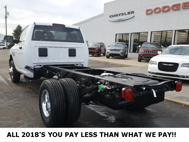 2018 Ram 3500 Regular Cab DRW 4x4,  Cab Chassis #18698 - photo 2