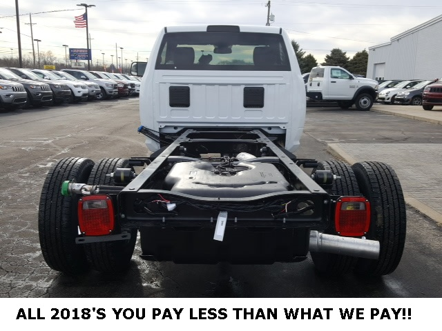 2018 Ram 3500 Regular Cab DRW 4x4,  Cab Chassis #18698 - photo 3