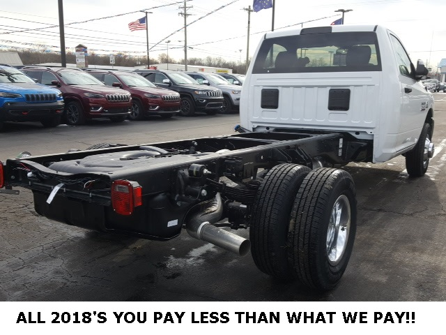 2018 Ram 3500 Regular Cab DRW 4x4,  Cab Chassis #18698 - photo 4
