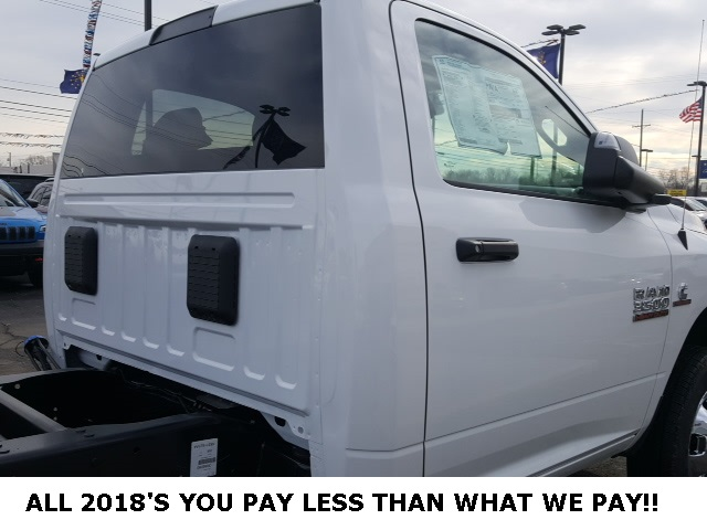 2018 Ram 3500 Regular Cab DRW 4x4,  Cab Chassis #18698 - photo 5
