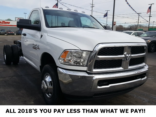2018 Ram 3500 Regular Cab DRW 4x4,  Cab Chassis #18698 - photo 6