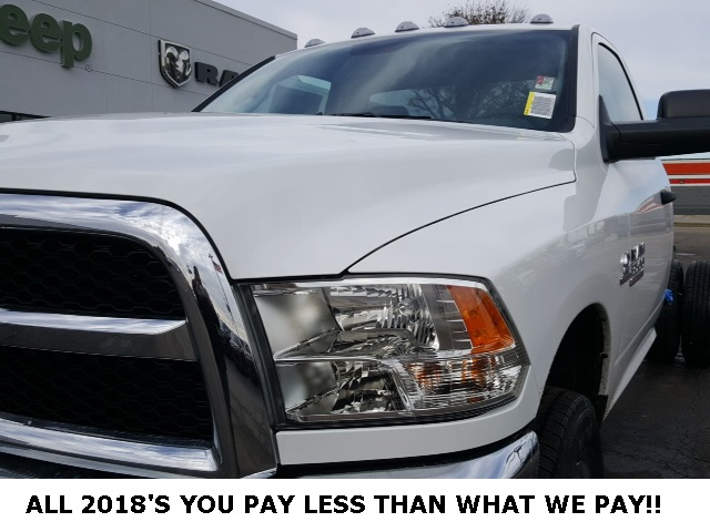 2018 Ram 3500 Regular Cab DRW 4x4,  Cab Chassis #18698 - photo 9