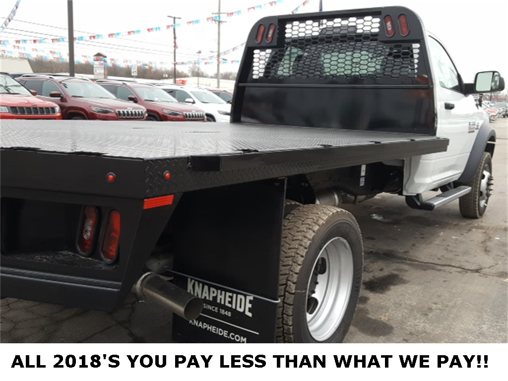 2018 Ram 5500 Regular Cab DRW 4x4,  Knapheide Platform Body #18715 - photo 10