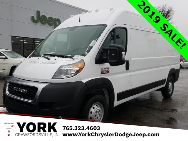 2019 ProMaster 2500 High Roof FWD, Empty Cargo Van #19288 - photo 1