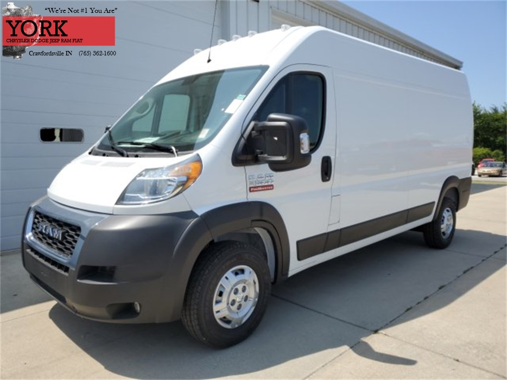 2019 ProMaster 2500 High Roof FWD, Empty Cargo Van #19463 - photo 1
