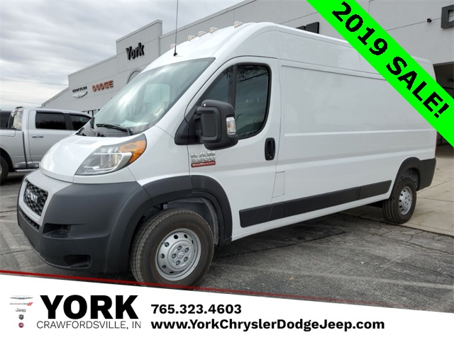 2019 ProMaster 2500 High Roof FWD, Empty Cargo Van #19572 - photo 1
