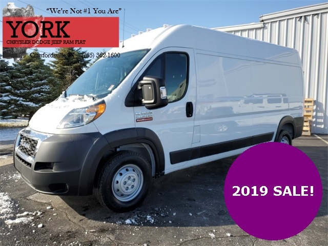2019 ProMaster 2500 High Roof FWD, Empty Cargo Van #19582 - photo 1