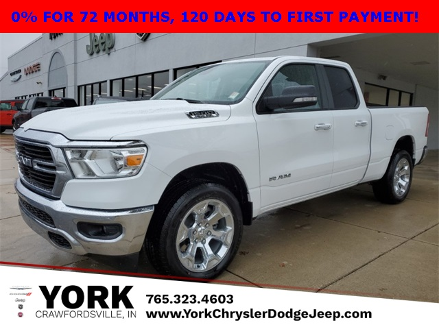 2020 Ram 1500 Quad Cab 4x4, Pickup #20116 - photo 1