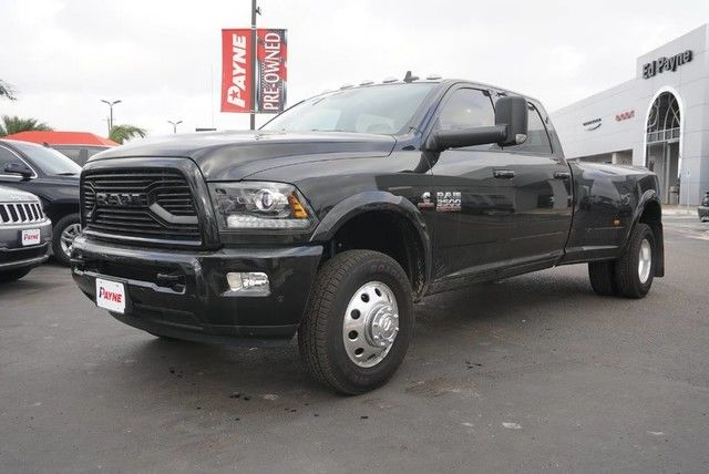 2018 Ram 3500 Crew Cab DRW 4x4, Pickup #G152919 - photo 1