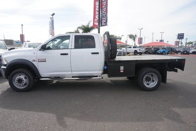 2018 Ram 5500 Crew Cab DRW 4x4, Platform Body #G166987 - photo 11