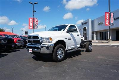 2018 Ram 3500 Regular Cab 4x4,  Cab Chassis #G343644 - photo 1