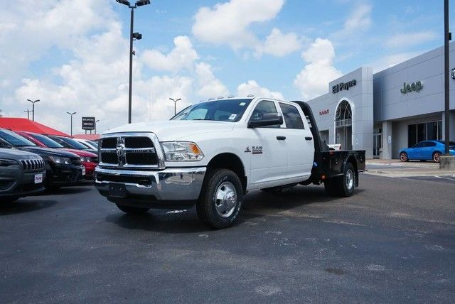 2018 Ram 3500 Crew Cab DRW 4x4,  Platform Body #JG376680 - photo 1
