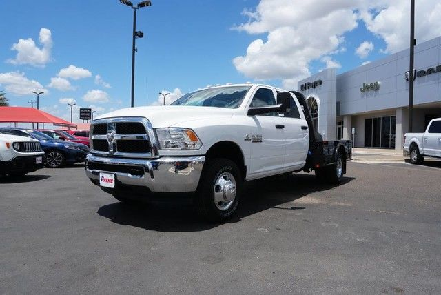2018 Ram 3500 Crew Cab DRW 4x4,  Platform Body #JG376730 - photo 1