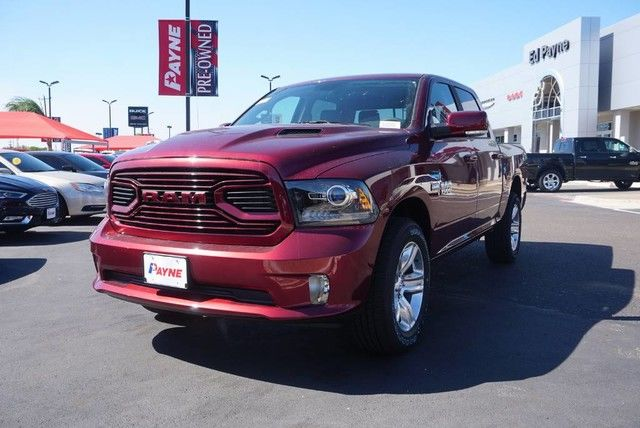 2018 Ram 1500 Crew Cab 4x4,  Pickup #S111278 - photo 1