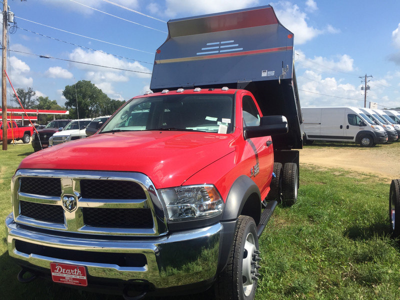 2017 Ram 5500 Regular Cab DRW 4x4, Dump Body #12408H - photo 3