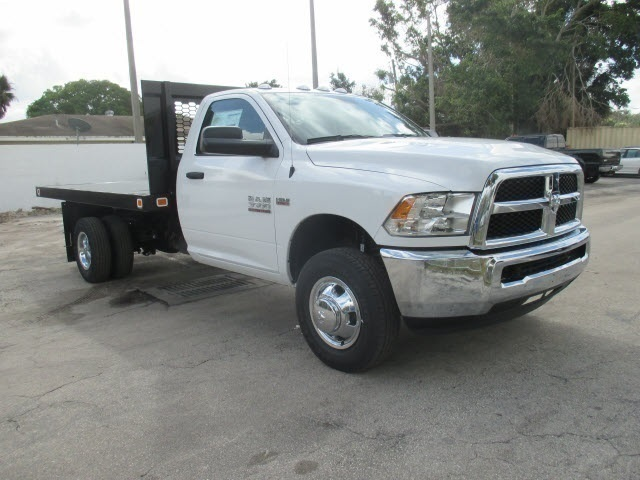 2018 Ram 3500 Regular Cab DRW, Knapheide Platform Body #JG183536 - photo 30