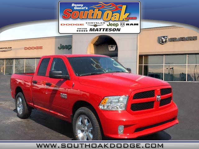2018 Ram 1500 Quad Cab 4x4, Pickup #RT18123 - photo 1