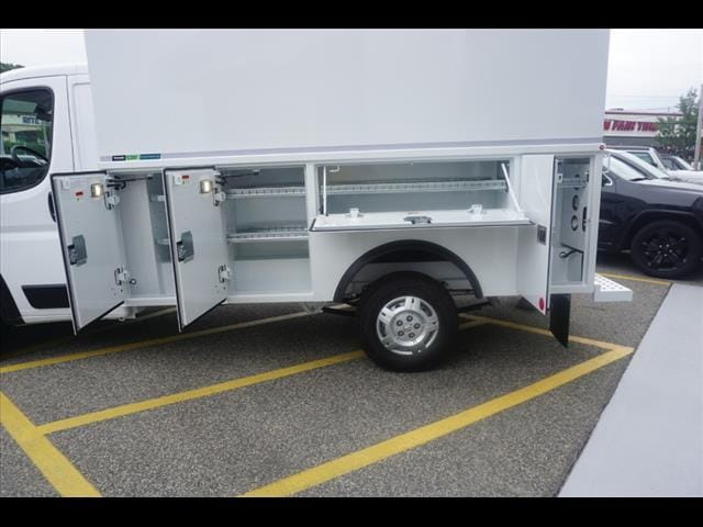 2019 ProMaster 3500 Standard Roof FWD,  Reading Aluminum CSV Service Utility Van #D19483 - photo 13