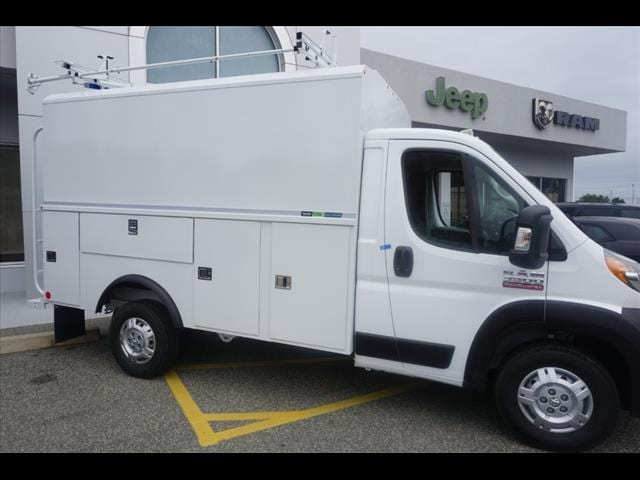 2019 ProMaster 3500 Standard Roof FWD,  Reading Aluminum CSV Service Utility Van #D19483 - photo 3