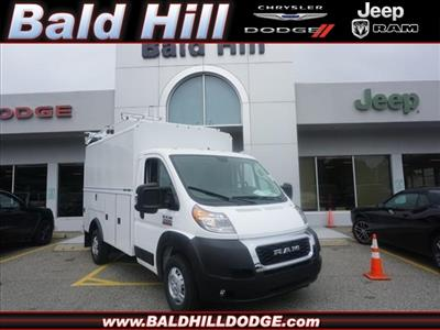 2019 ProMaster 3500 Standard Roof FWD,  Reading Aluminum CSV Service Utility Van #D19483 - photo 1