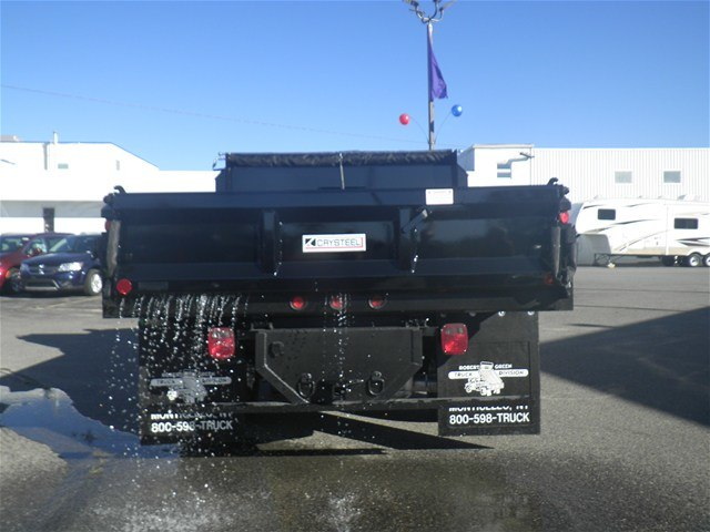 2017 Ram 3500 Regular Cab DRW 4x4, Crysteel Dump Body #N17321 - photo 4