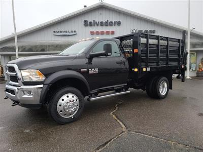 2018 Ram 5500 Regular Cab DRW 4x4,  Stake Bed #N18047 - photo 1