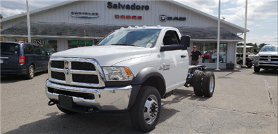 2018 Ram 5500 Regular Cab DRW 4x4, Cab Chassis #N18163 - photo 1