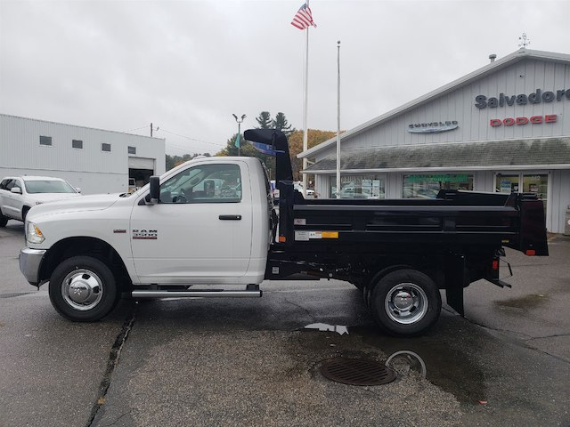2018 Ram 3500 Regular Cab DRW 4x4,  Rugby Dump Body #N18215 - photo 3
