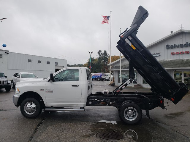 2018 Ram 3500 Regular Cab DRW 4x4,  Rugby Eliminator LP Steel Dump Body #N18215 - photo 5