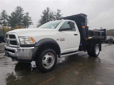 2018 Ram 5500 Regular Cab DRW 4x4,  Rugby Eliminator LP Steel Dump Body #N18300 - photo 1