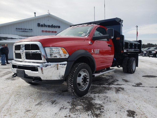 2018 Ram 5500 Regular Cab DRW 4x4,  Rugby Eliminator LP Steel Dump Body #N18308 - photo 1
