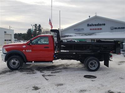 2018 Ram 5500 Regular Cab DRW 4x4,  Rugby Eliminator LP Steel Dump Body #N18308 - photo 3