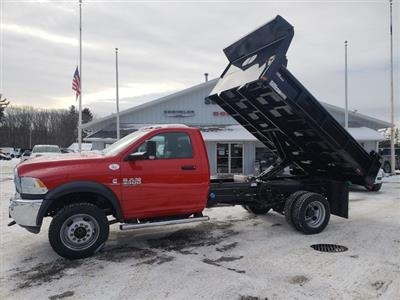 2018 Ram 5500 Regular Cab DRW 4x4,  Rugby Eliminator LP Steel Dump Body #N18308 - photo 4