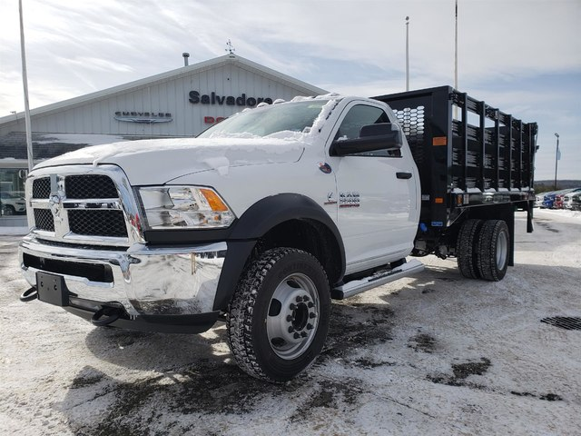 2018 Ram 5500 Regular Cab DRW 4x4,  Knapheide Value-Master X Stake Bed #N18335 - photo 1
