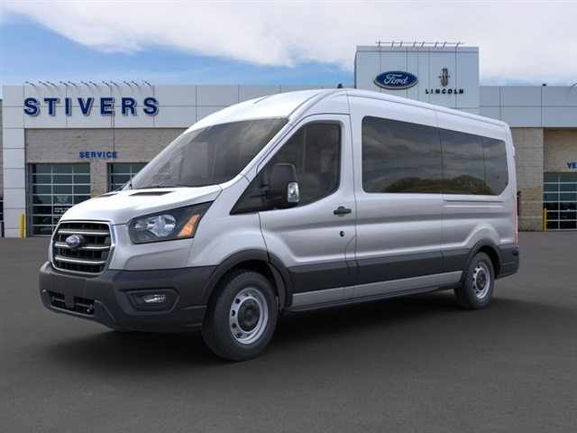 2020 Ford Transit 350 Med Roof RWD, Passenger Wagon #F02074 - photo 1