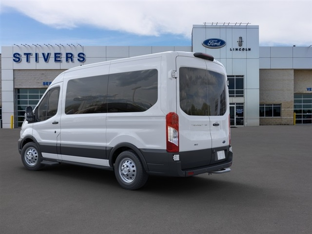 2020 Ford Transit 150 Med Roof AWD, Passenger Wagon #F02338 - photo 1